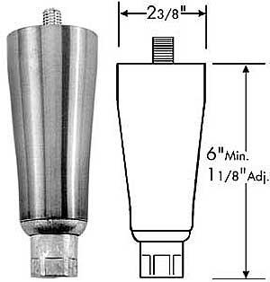 LEG (1/2-13, 6H, ZNC, GRY)