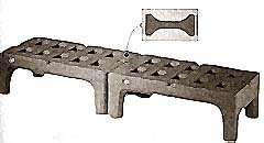 """RACK,DUNNAGE (BOW TIE, 30"""")"""