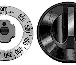 DIAL,THERMOSTAT (BLANK, 4-WAY)