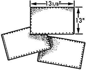 "FILTER, OIL(13-1/8X13"")(100)"