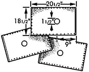 "FILTER,OIL(18.5 X 20.5"")(100)"