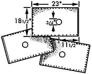 "FILTER,OIL (18-1/2 X 23"")(100)"