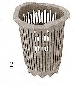 CYLINDER,SILVERWARE (PLASTIC)