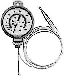"""THERMOMETER (2""""DIAL,-40/60F)"""