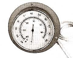 THERMOMETER (FLANGE MT-40/60F)