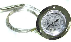 THERMOMETER (FLNG MT, 40-240F)