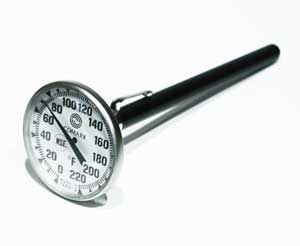 THERMOMETER,TEST (-40/160F)
