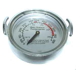 THERMOMETER, GRILL (100-600F)