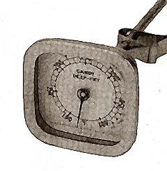 """THERMOMETER (100-400F,2""""DIA)"""