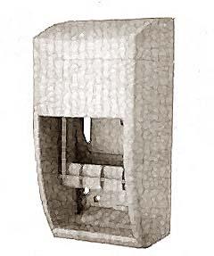 DISPENSER,TISSUE (2 ROLL PLST)