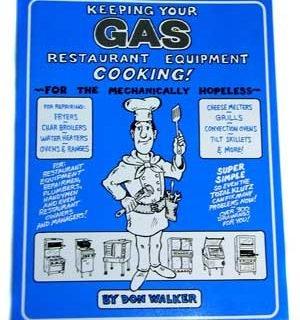 BOOK, EQUIPMENT REPAIR (GAS)