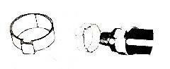 "CLAMP,OETIKER (1/2""TUBE)(100)"