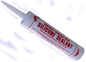 SILICONE,HI TEMP(RED,10.3 OZ)
