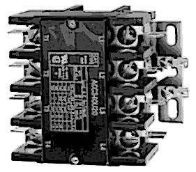 CONTACTOR (4 POLE,40 AMP,120V)