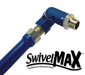 "FITTING,GAS (SWIVEL MAX,1/2"")"