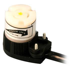 CORDSET (120V,W/ANG TWST PLUG)