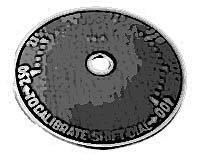 PLATE,THERMOST DIAL(250-400)