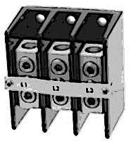 BLOCK,TERMINAL (125A, 3 POLE)