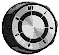 DIAL,RANGE (1-6, FLAT DOWN)
