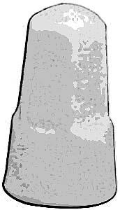 NUT, WIRE (PORCELAIN)