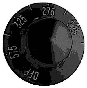 DIAL,THERMOSTAT (200-375F)