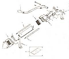 LEG,FRONT (MODEL 29)
