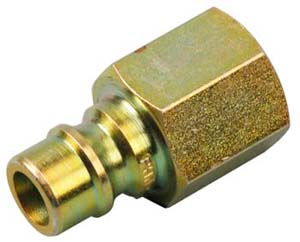 CONNECTOR,MALE (BRASS)
