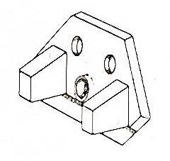 HOLDER,KNIFE (ELECT CAN OPENR)