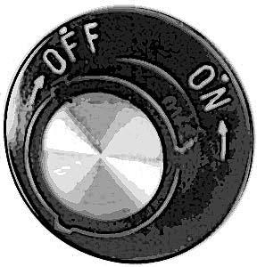 KNOB,CONTROL (ON/OFF)