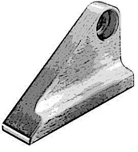 BRACKET,DOOR HANDLE (LEFT)