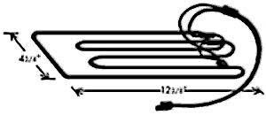 ELEMENT,CONDENSATE PAN (230V)