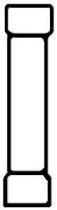 CONNECTOR,BUTT (12-10) (100)