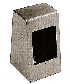 BOX, ELECTRICAL (SINGLE FACE)