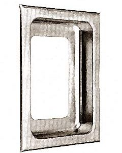 HOUSING, SWITCH (RECESSED,S/S)