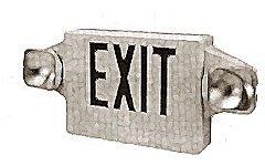 SIGN,EXIT(2 ADJ & LED LIGHTED)