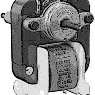 "MOTOR,FAN (1/4"" SHAFT,115V)"