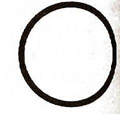 O-RING, DRAIN/OVERFLOW TUBE