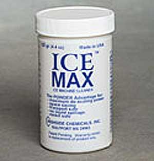 ICE MAX ICE MACINE CLEANER
