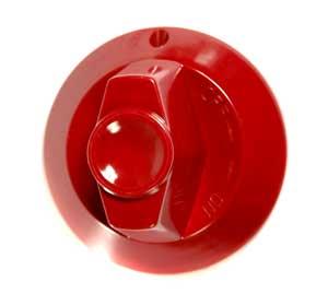 KNOB,BURNER VALVE (RED)