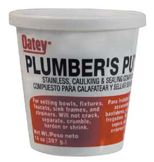 PUTTY, PLUMBERS (1/2 PINT)